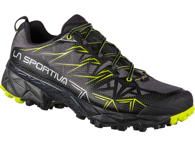La Sportiva Akyra GTX Running Shoes Men carbon/apple green